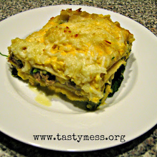 Creamy Autumn Lasagna