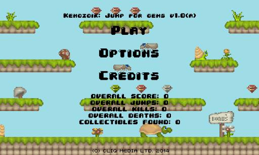 Kenozoik: Jump for gems