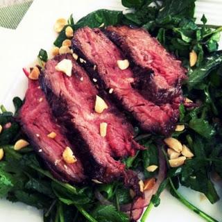 Refreshing + Satisfying Thai Beef Salad