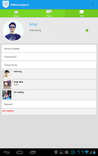 Gmessenger - screenshot thumbnail