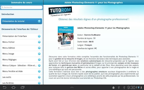 Tuto Photoshop Elements 11 screenshot 0