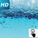 Touch HD LWP: Water bubbles icon