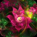 Sparkling Flower 3D icon