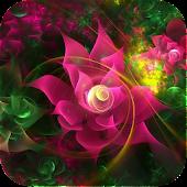 Sparkling Flower 3D
