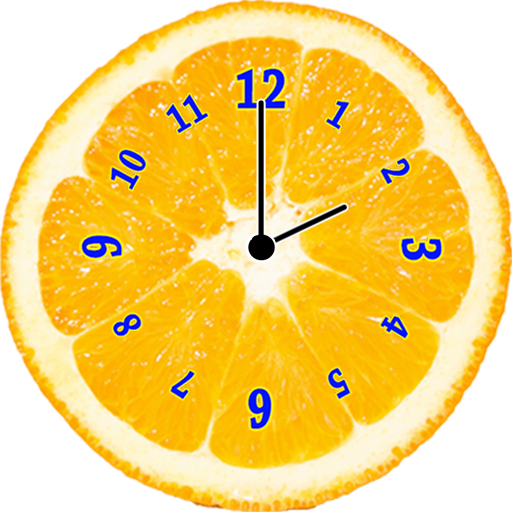 果汁水果 模擬時鐘 個人化 App LOGO-硬是要APP