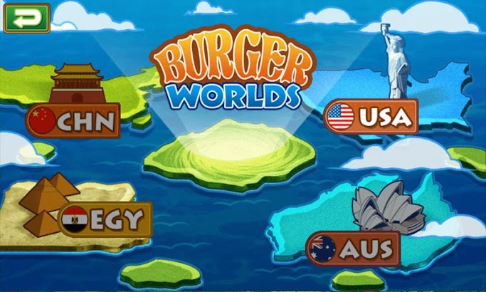 Burger Worlds screenshot