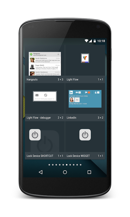 Lock Device Widget- screenshot