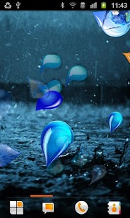 Drops Live Wallpaper - screenshot thumbnail