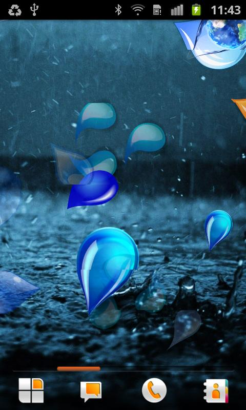Drops Live Wallpaper - screenshot