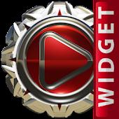 Poweramp Widget Red Magic