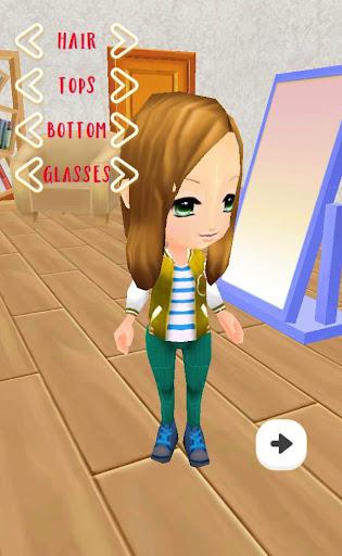 Girly Girl Dressup 3D