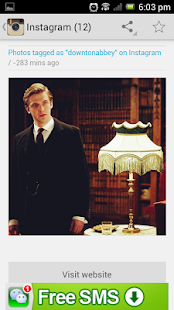 Downton Abbey Fan Portal - screenshot thumbnail