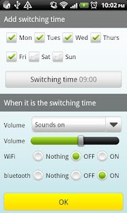 Auto Switch(Wifi,BT,Sound) - screenshot thumbnail