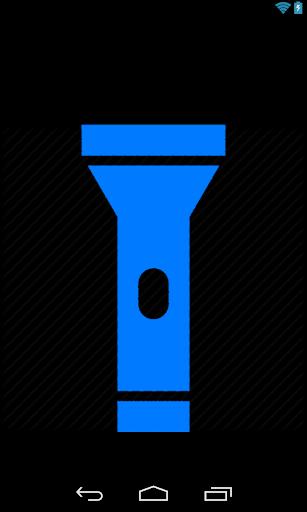 Flashlight - flat and simple