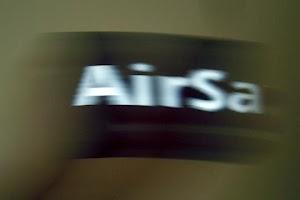 Screenshot of AirSay