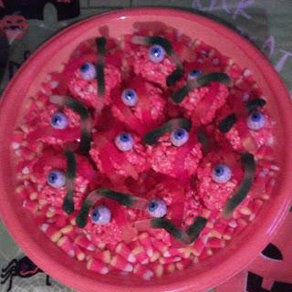 Spooky Halloween Popcorn Balls Recipe