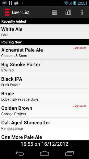 Hashigo Zake Beer List