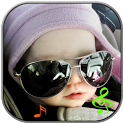Funny kids ringtone icon