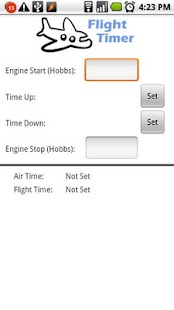 Flight Timer Lite - screenshot thumbnail