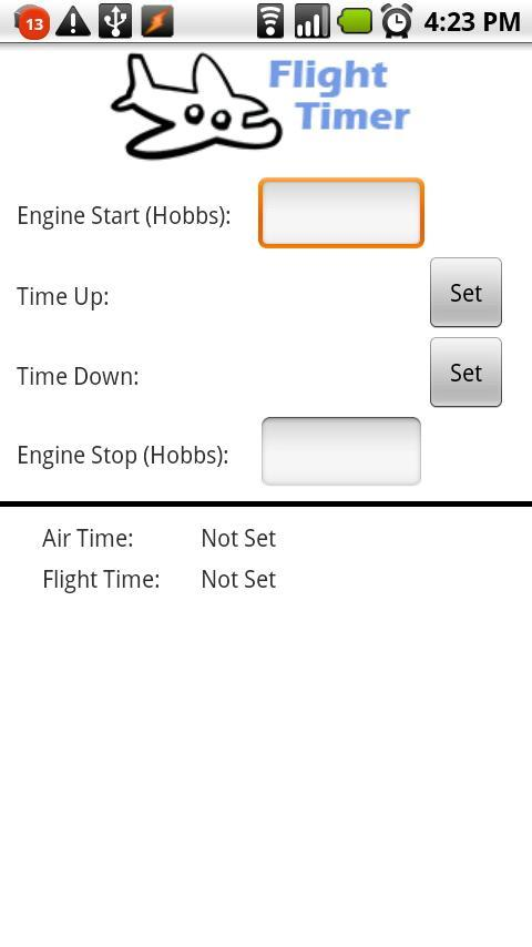 Flight Timer Lite - screenshot