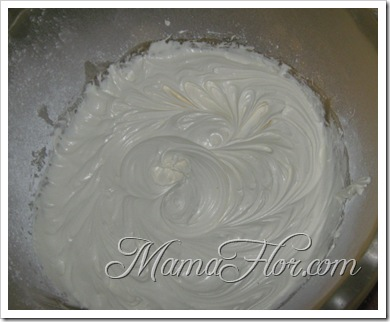 Respostería: Crema Chantilly…