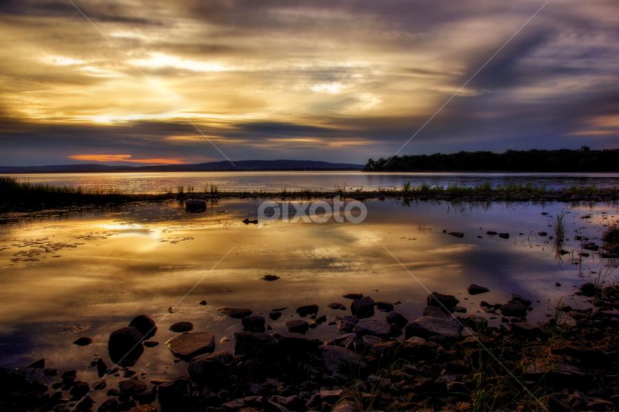 by Otto Mercik - Landscapes Sunsets & Sunrises ( landscape, beach,  )