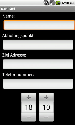 D3H Sindelfingen Taxi