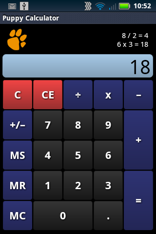 Puppy Calculator