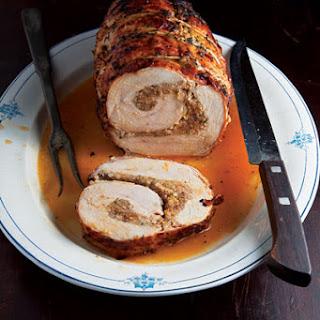 Boudin-Stuffed Turkey Breast.