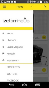 zeltimhaus - Innovationsportal- screenshot thumbnail