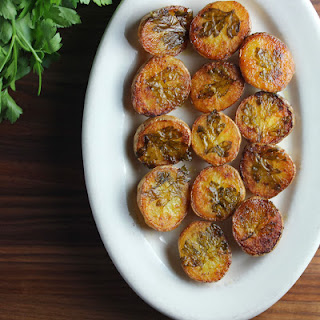 Parsley Potatoes.