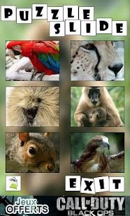 Puzzle Slide : Animal- screenshot thumbnail