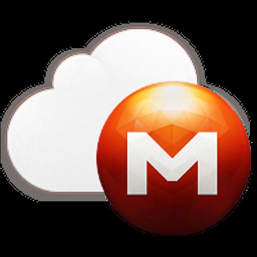 Mega cloud storage LOGO-APP點子