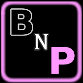 Black-N-Pink Go Launcher Theme