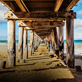 The Pier by I Snapit - Buildings & Architecture Bridges & Suspended Structures ( water, piers, sea, beach, landscapes,  )