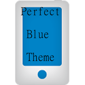 Perfect Blue LG Home Theme