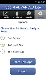 Social Advanced for Facebook - screenshot thumbnail