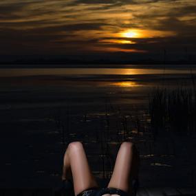 Relax by Bogdan Negoita - People Fashion ( relax, sunset,  )