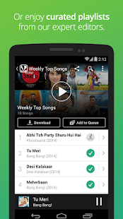 Saavn: Hindi & Bollywood Songs - screenshot thumbnail
