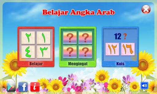 Belajar Angka Arab