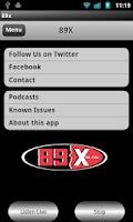 Screenshot of 89X (Unofficial)