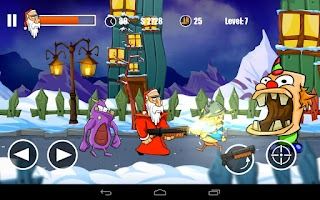 Screenshot of Santa's Monster Shootout