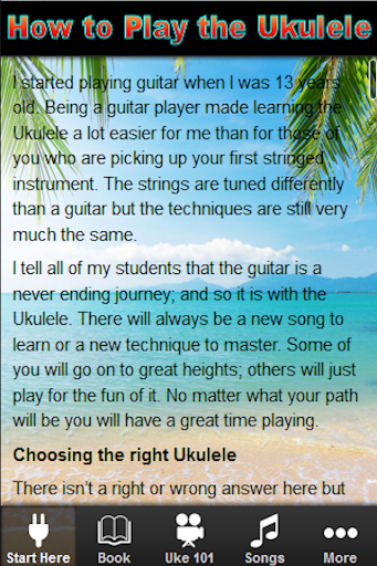 Learn How to Play the Ukulele
