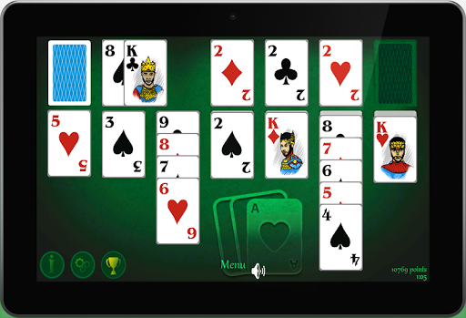 接龙纸牌游戏