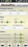 Screenshot of RentalPro