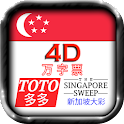 4D & Toto & SGP Sweep Free icon