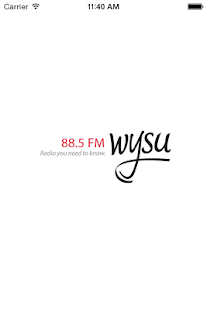 WYSU Public Radio App- screenshot thumbnail