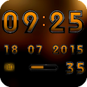Digital Clock Widget A-KAIO icon
