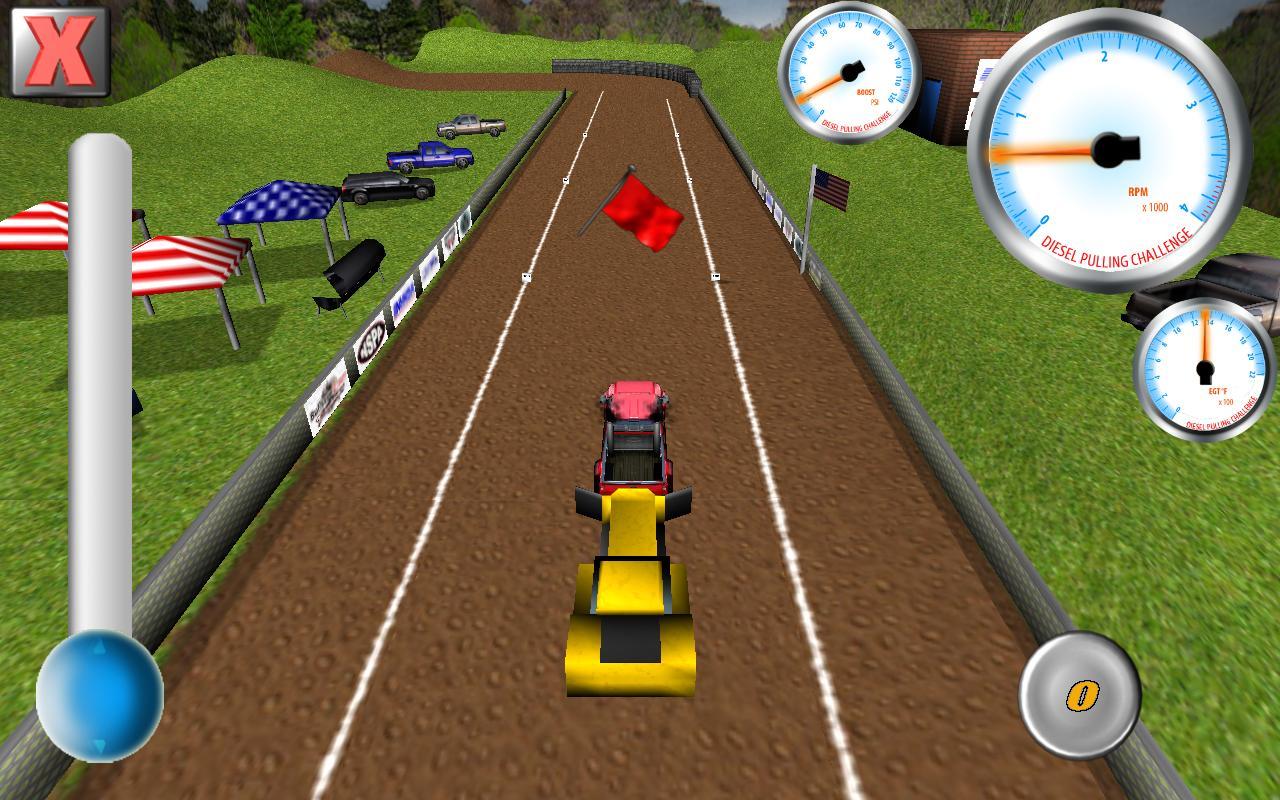 Diesel Pulling Challenge- screenshot