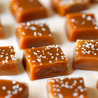 Chewy Salted Caramels.